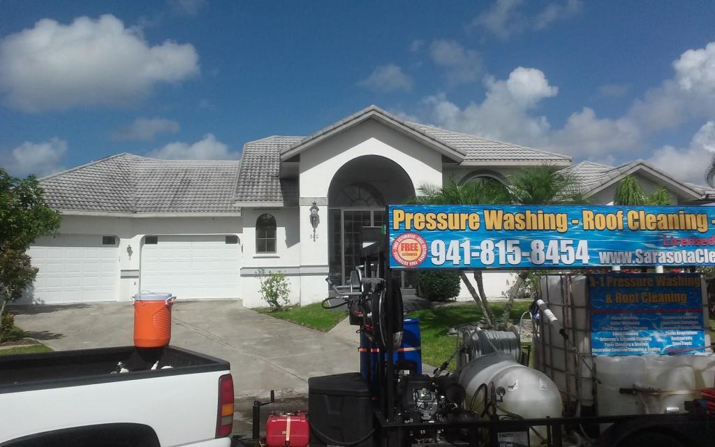 Metal roof cleaning punta gorda florida 941-815-8454
