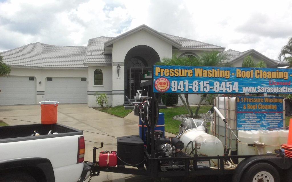 Metal roof cleaning punta gorda florida 941-815-8454