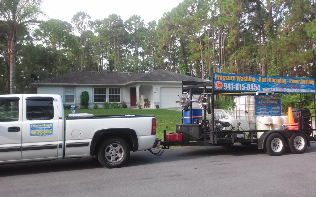 Shingle Roof Cleaning 941-815-8454