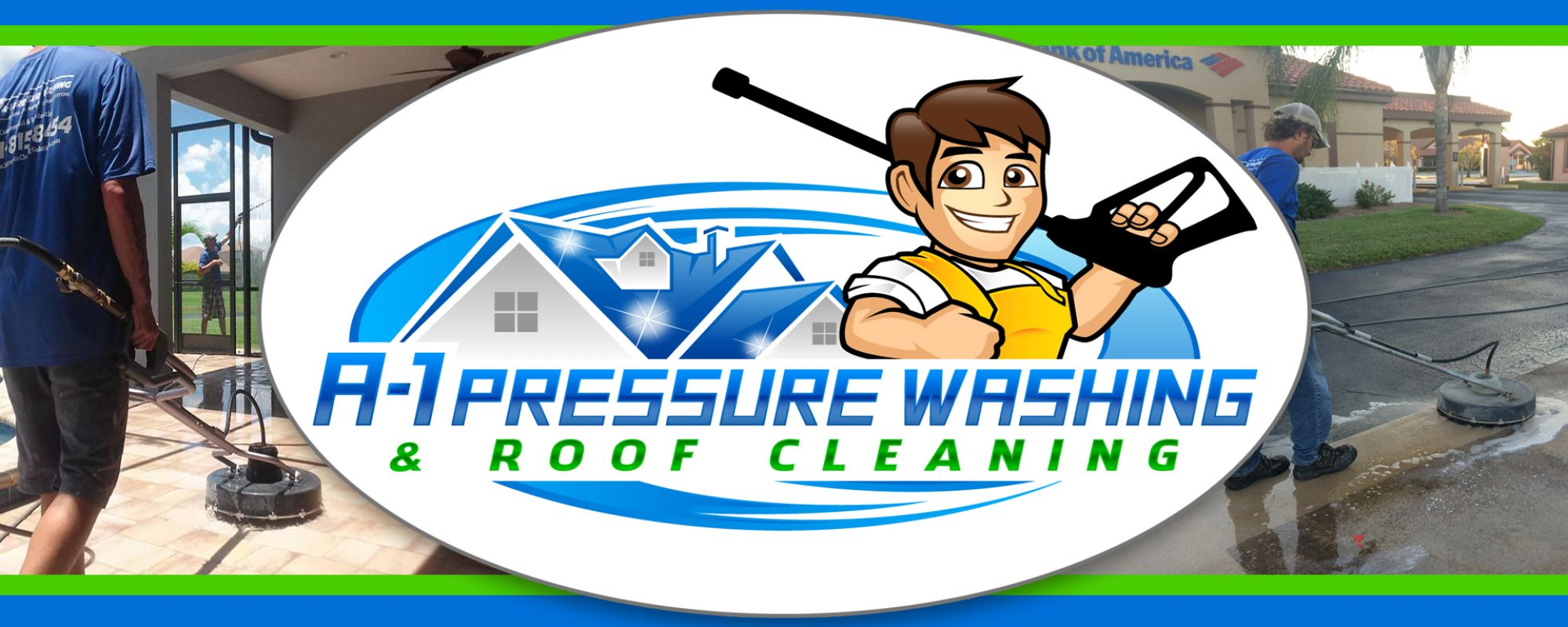 A-1 Pressure Washing & Roof Cleaning (941)815-8454 www