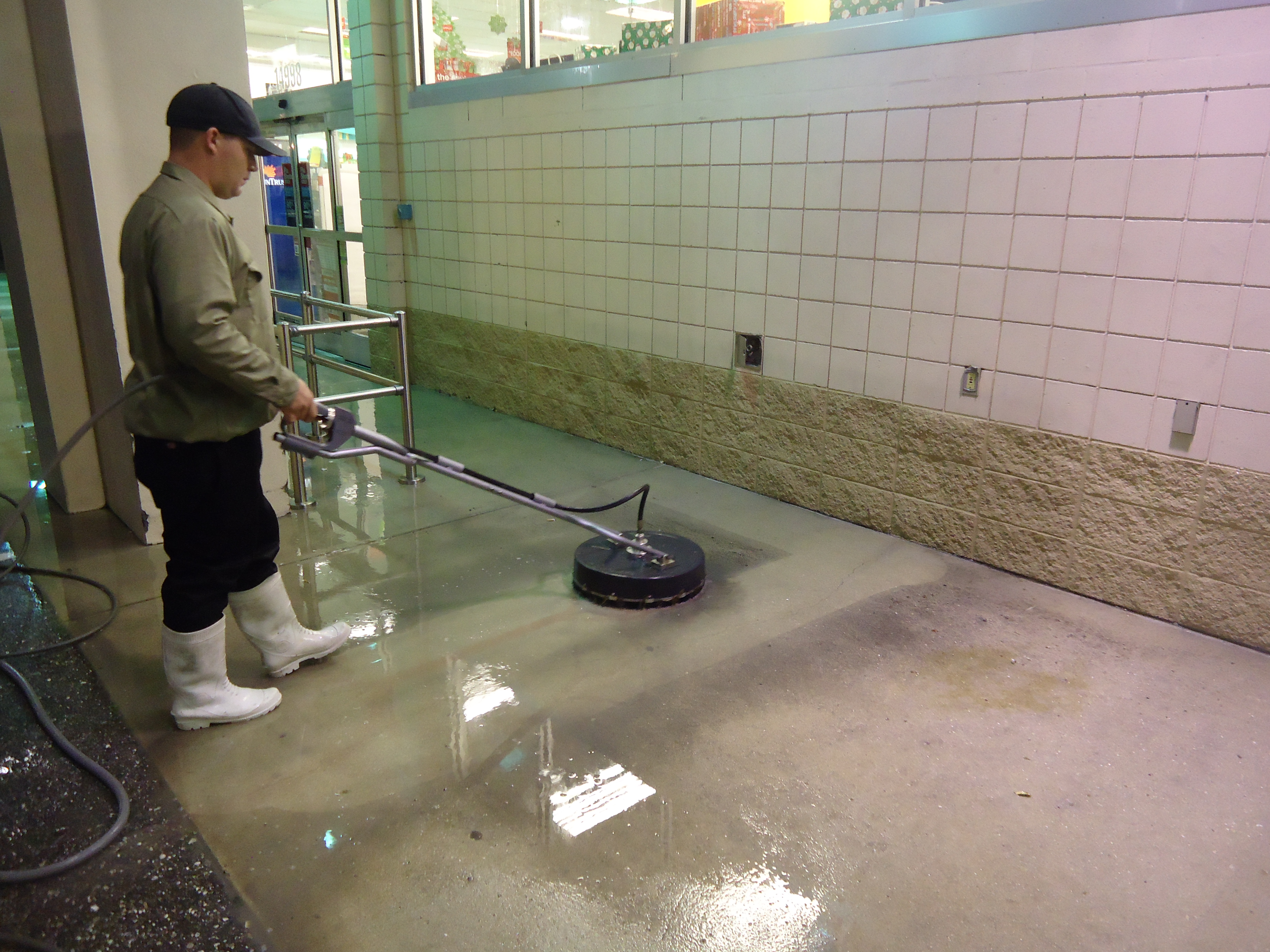 Pressure washing englewood pressure cleaning power for Cement cleaning solution