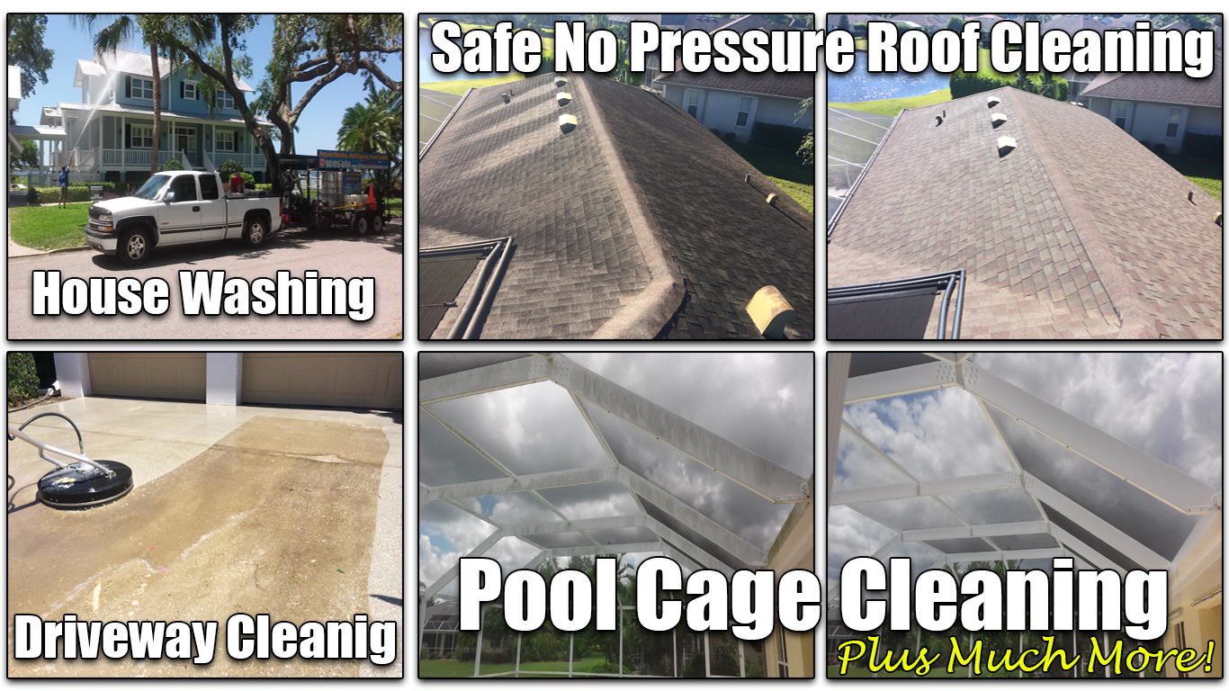 A-1 Pressure Washing & Roof Cleaning | Residential Pressure Cleaning Logo