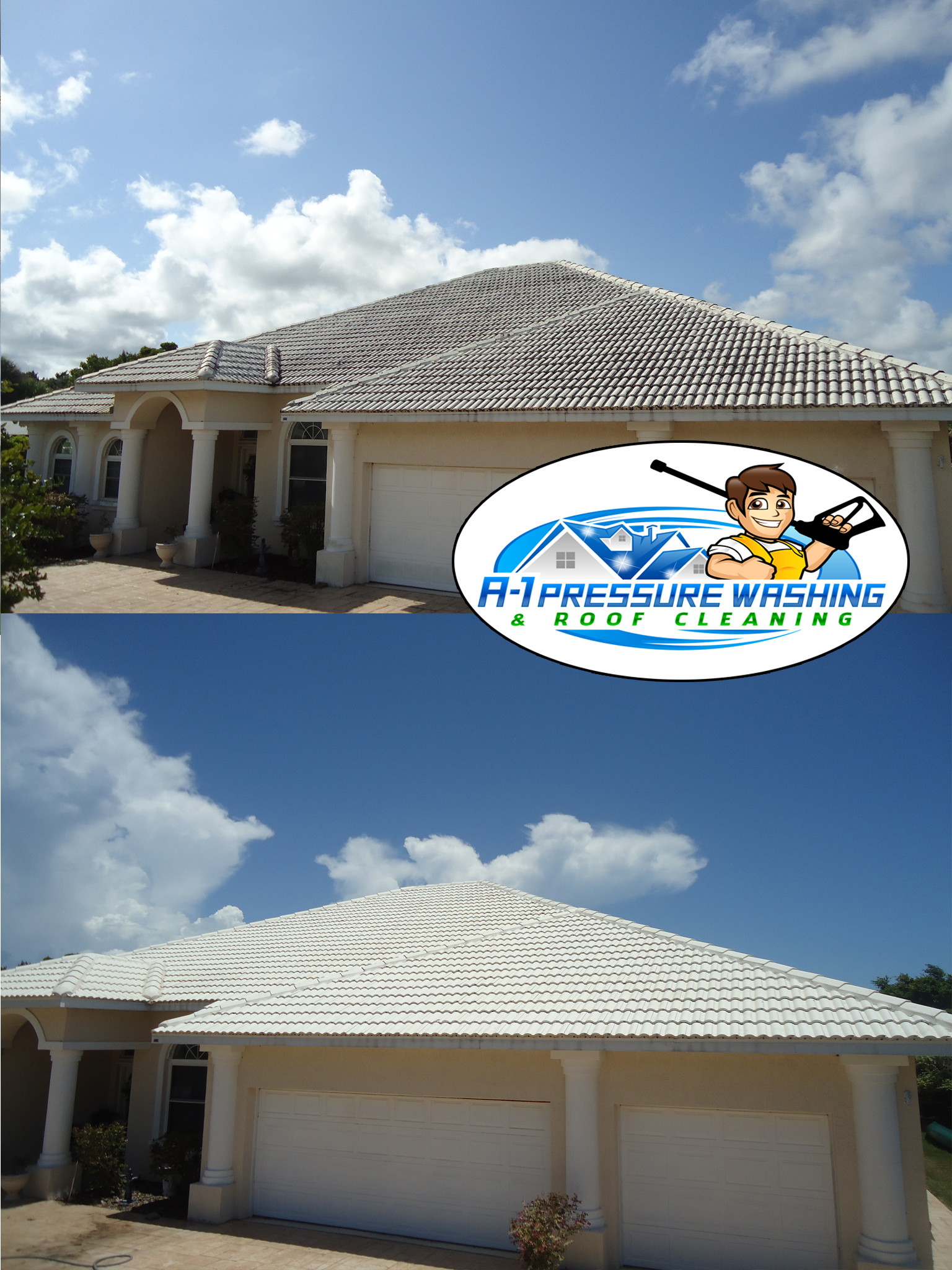 Photo Gallery A 1 Pressure Washing Amp Roof Cleaning